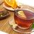 чай · Кубок · оранжевый · Ломтики · лист · ложку - Сток-фото © goir