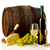 wine cheese grapes and barrel stock photo © goir