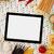 numérique · comprimé · ingrédients · pâtes · espace · de · copie · alimentaire - photo stock © goir