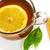 茶 · オレンジ · クローズアップ · カップ · 孤立した - ストックフォト © goir