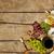 ワインボトル · ブルーチーズ · 白ワイン · 孤立した · 白 · 食品 - ストックフォト © goir