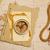 verouderd · kompas · houten · tafel · top · retro-stijl · achtergrond - stockfoto © goir
