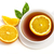 Cup of tea with orange slices stock photo © goir