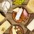 チーズ · 表 · ミルク · 朝食 · ボード - ストックフォト © goir