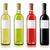 wijn · flessen · geen · drie · foto's - stockfoto © goir