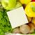 alışveriş · liste · meyve · sebze · meyve · pazar - stok fotoğraf © goir