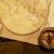 kompas · oude · kaart · zeilen · fotografie · richting · toerisme - stockfoto © goir
