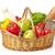 caisse · fruits · légumes · légumes · bois · isolé - photo stock © goir