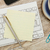 Adhesive note on desk stock photo © goir