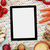 cuisson · ingrédients · numérique · comprimé · pâtes · espace · de · copie - photo stock © goir