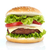 cheeseburger · comida · fundo · carne · salada · sanduíche - foto stock © goir