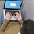 bejelentkezés · laptop · férfi · kanapé · internet · technológia - stock fotó © goir