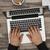 man · kantoor · laptop · rechtstreeks · boven - stockfoto © goir
