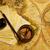 kompas · brieven · kaart · oude · kaart · papier · wereldbol - stockfoto © goir