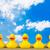 резиновые · утки · игрушку · объекты · играет · один - Сток-фото © goir