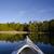 kayak on calm lake stock photo © gordo25