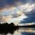 geese flying at sunset stock photo © gordo25