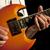 eller · kaya · müzisyen · gitar · oynama · eski - stok fotoğraf © gordo25