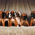 six red boxer puppies stock photo © goroshnikova