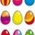 красивой · Пасху · яйца · фон · стороны · дизайна - Сток-фото © grafistart
