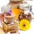 miele · polline · propoli · miele · di · ape · prodotti - foto d'archivio © grafvision
