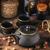 csendélet · ázsiai · tea · szett · fából · készült · ital - stock fotó © grafvision