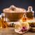 aromatherapie · olie · bloemblaadjes · ondiep - stockfoto © grafvision