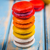 башни · сэндвич · приготовления · Diner · еды · бутылок - Сток-фото © grafvision