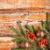 Рождества · гирлянда · зеленый · деревенский · ель - Сток-фото © grafvision