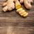 fresco · gengibre · raiz · saudável · fundo · branco · orgânico - foto stock © grafvision