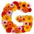 花 · 手紙 · アルファベット · 孤立した · 白 · 文字g - ストックフォト © grafvision