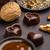 heart shaped chocolate praline stock photo © grafvision