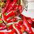 cam · kavanoz · kırmızı · eski · ahşap · masa - stok fotoğraf © grafvision
