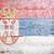 vlag · Servië · geschilderd · hout · plank - stockfoto © grafvision
