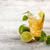 фрукты · коктейль · деревянный · стол · копия · пространства · пить · лет - Сток-фото © grafvision