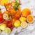buzlu · çay · limon · nane · meyve · cam - stok fotoğraf © grafvision