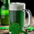 日 · 緑 · クローバー · ガラス · ビール · バー - ストックフォト © grafvision