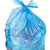 mavi · çöp · çanta · çöp · yalıtılmış · beyaz - stok fotoğraf © grafvision