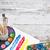 matemático · ecuación · primer · plano · colorido · escritorio - foto stock © grafvision