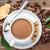 koffiekopje · bonen · suiker · steen · top - stockfoto © grafvision