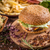 smakelijk · eigengemaakt · rundvlees · hamburger · sla · tomaat - stockfoto © grafvision