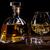 brandy · vidro · gelo · bar · garrafa · coquetel - foto stock © grafvision