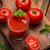 sok · pomidorowy · szkła · deska · do · krojenia · tabeli · vintage - zdjęcia stock © grafvision