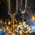 nuevos · año · champán · corcho · gafas · vidrio - foto stock © grafvision