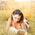 Ложь · трава · книга · счастливым · лет - Сток-фото © grafvision