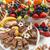 vacances · dessert · buffet · délicieux · chocolat · fruits - photo stock © grafvision