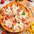 ピザ · ハム · イタリア語 · キッチン · スタジオ · レストラン - ストックフォト © grafvision