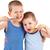 мальчики · молодые · зубная · щетка · изолированный · белый - Сток-фото © grafvision