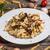 makaronu · ser · włoski · sos · krem · posiłek - zdjęcia stock © grafvision
