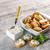 szendvics · vágódeszka · kenyér · hús · kés · paradicsom - stock fotó © grafvision